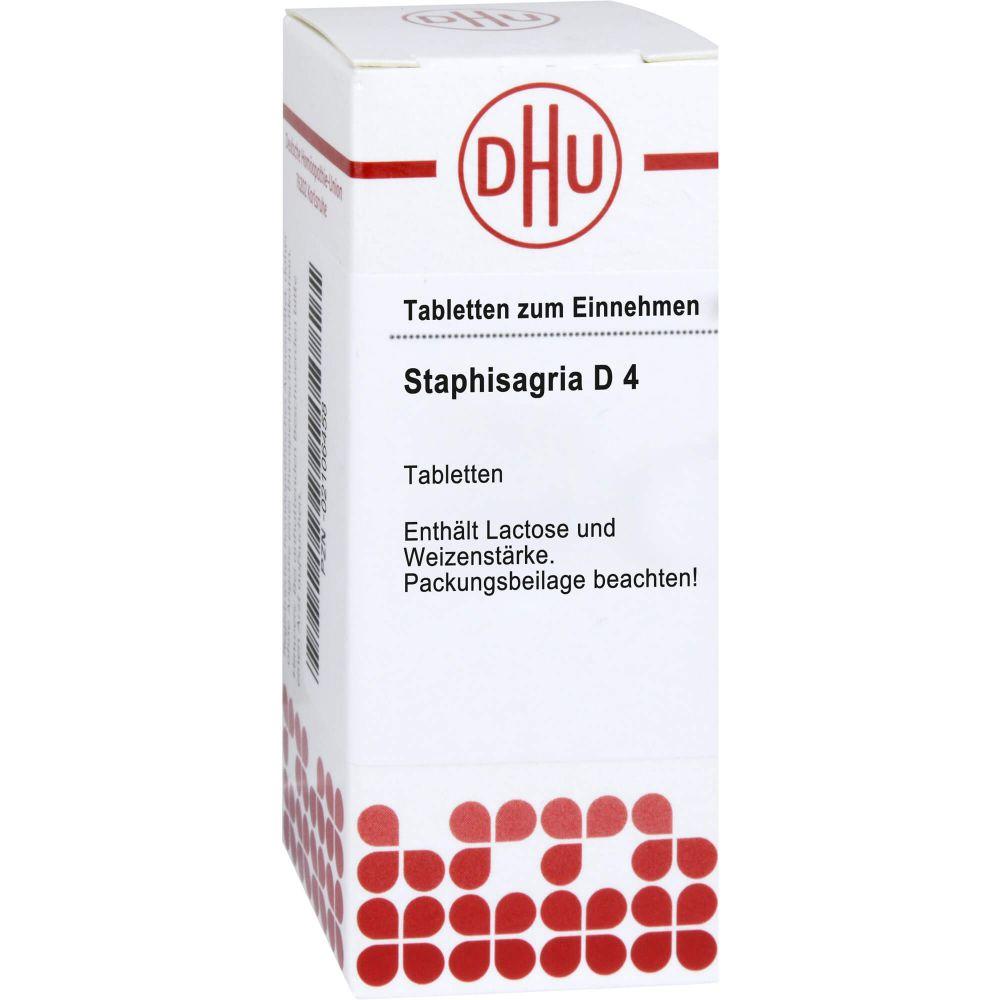 STAPHISAGRIA D 4 Tabletten