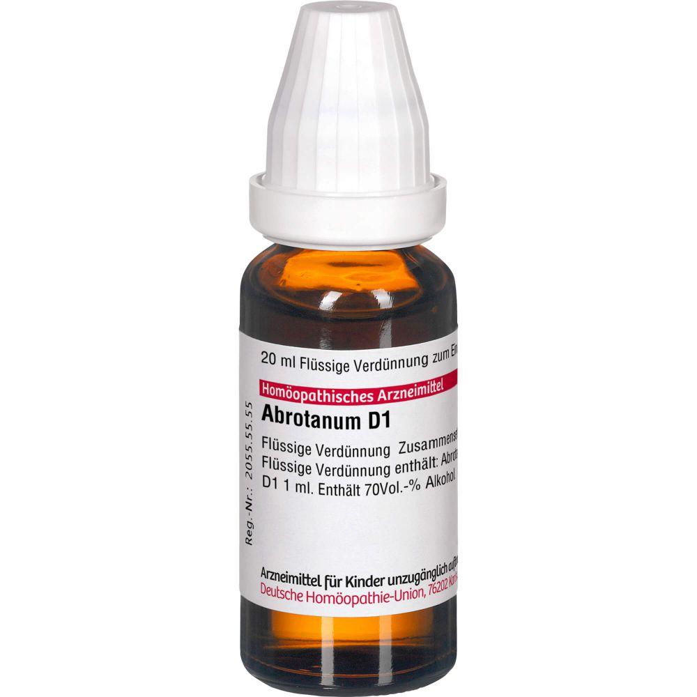 ABROTANUM D 1 Dilution