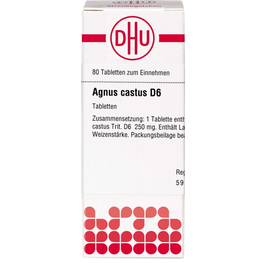 AGNUS CASTUS D 6 Tabletten