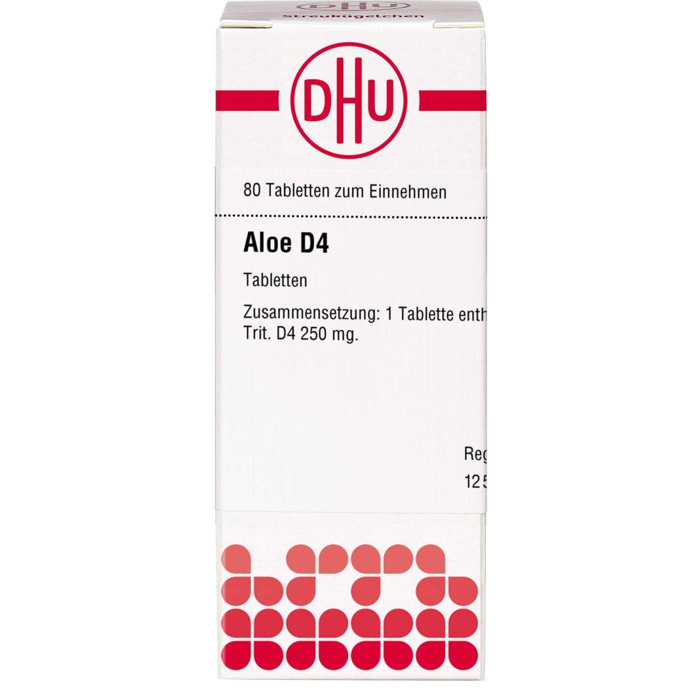 ALOE D 4 Tabletten
