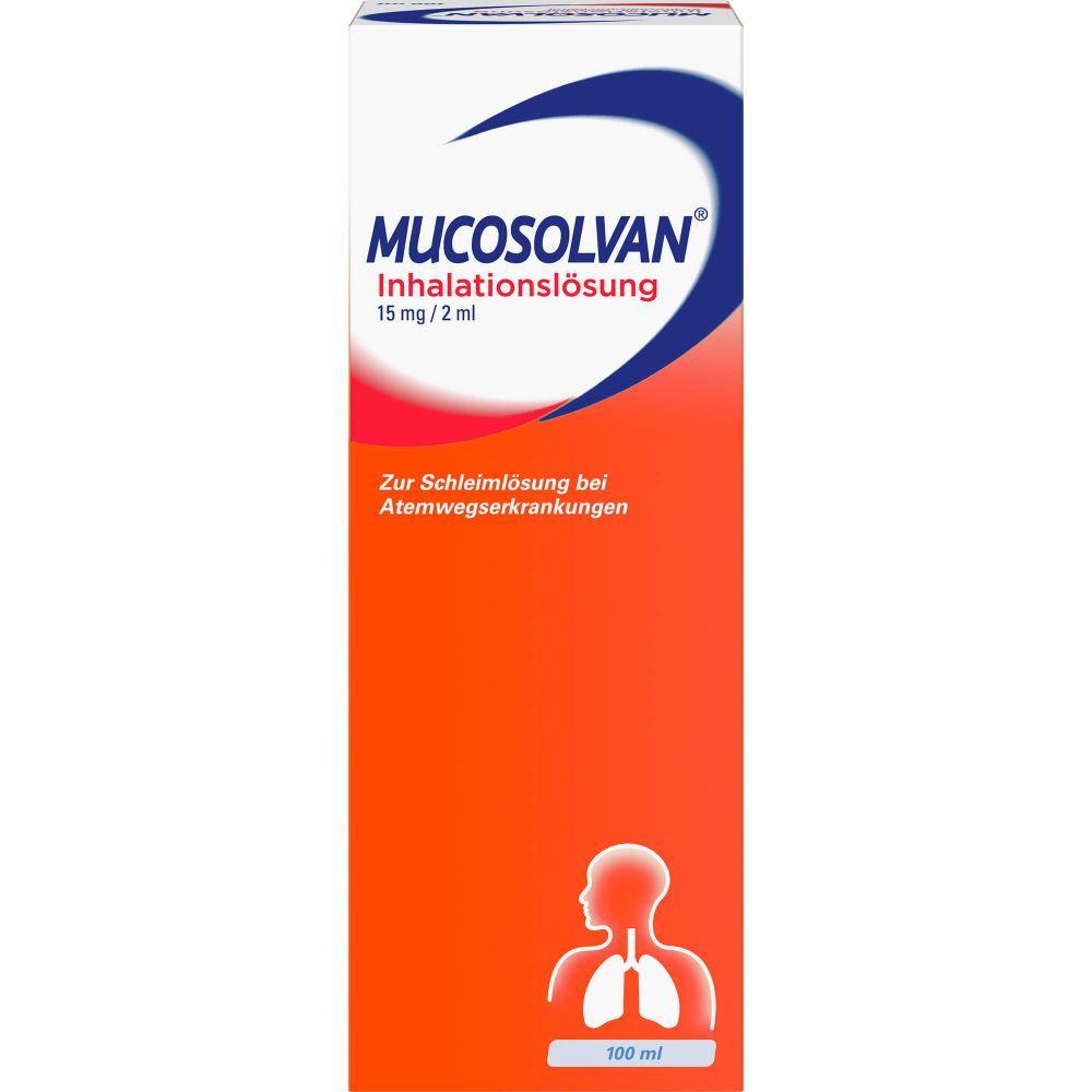 MUCOSOLVAN Inhalationslösung 15 mg Lsg.f.Vernebler