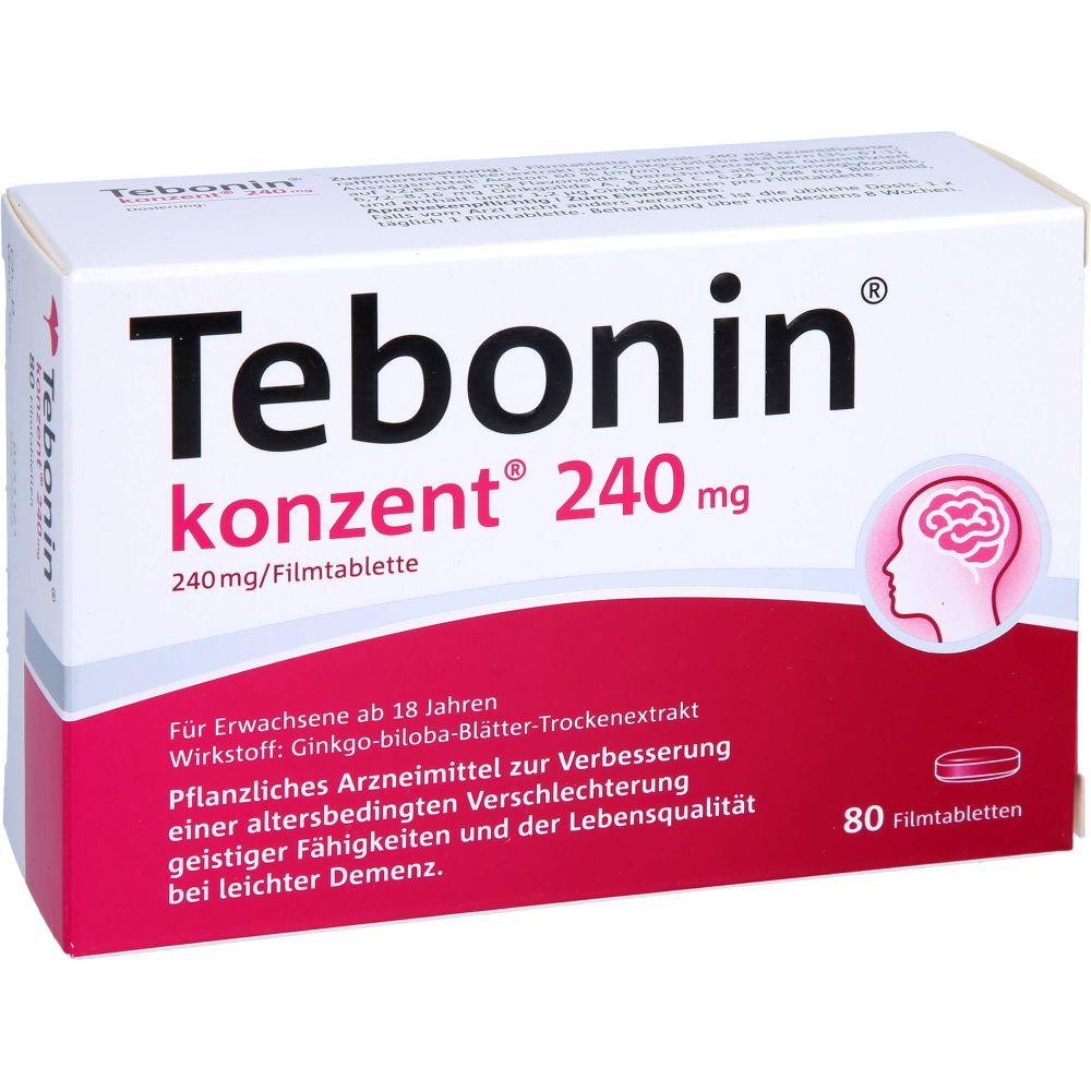 TEBONIN konzent 240 mg Filmtabletten