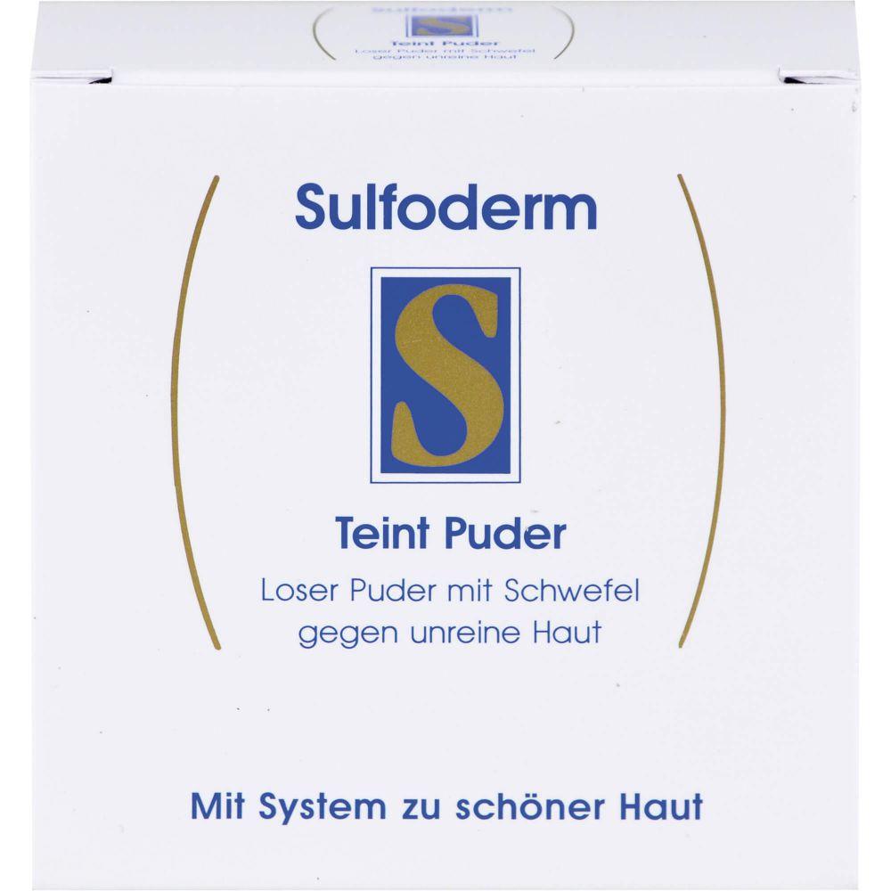 SULFODERM S Teint Puder