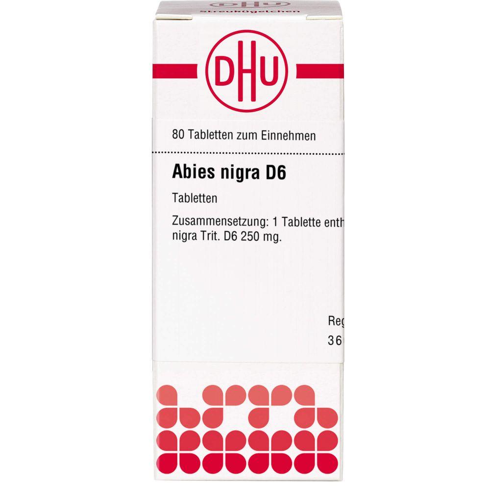 ABIES NIGRA D 6 Tabletten