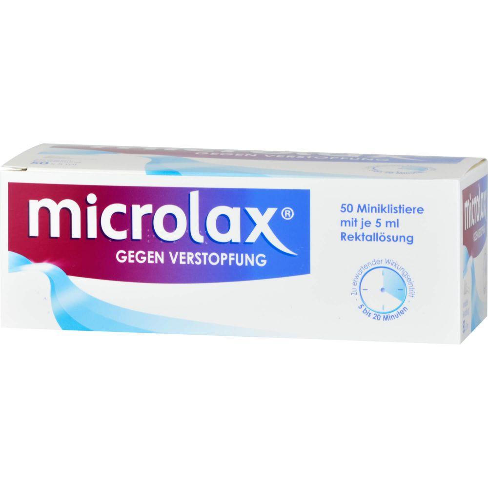MICROLAX Rektallösung Klistiere