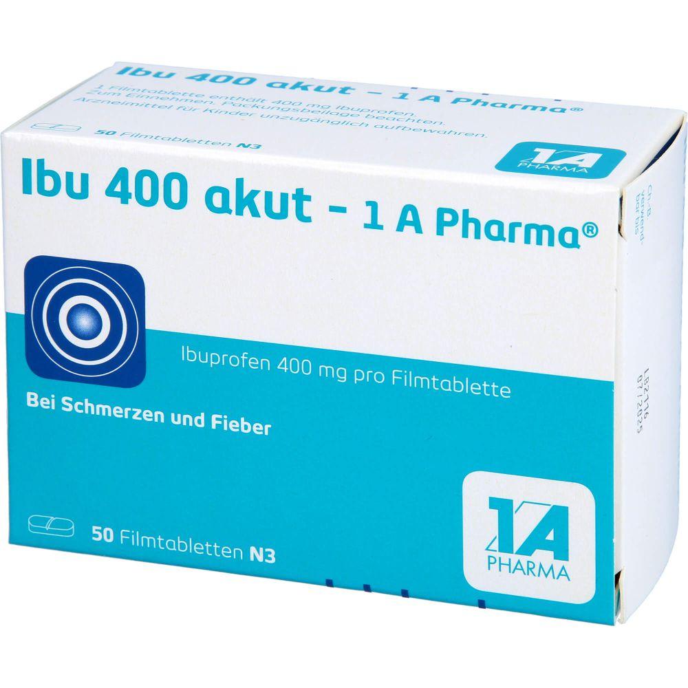 IBU 400 akut-1A Pharma Filmtabletten