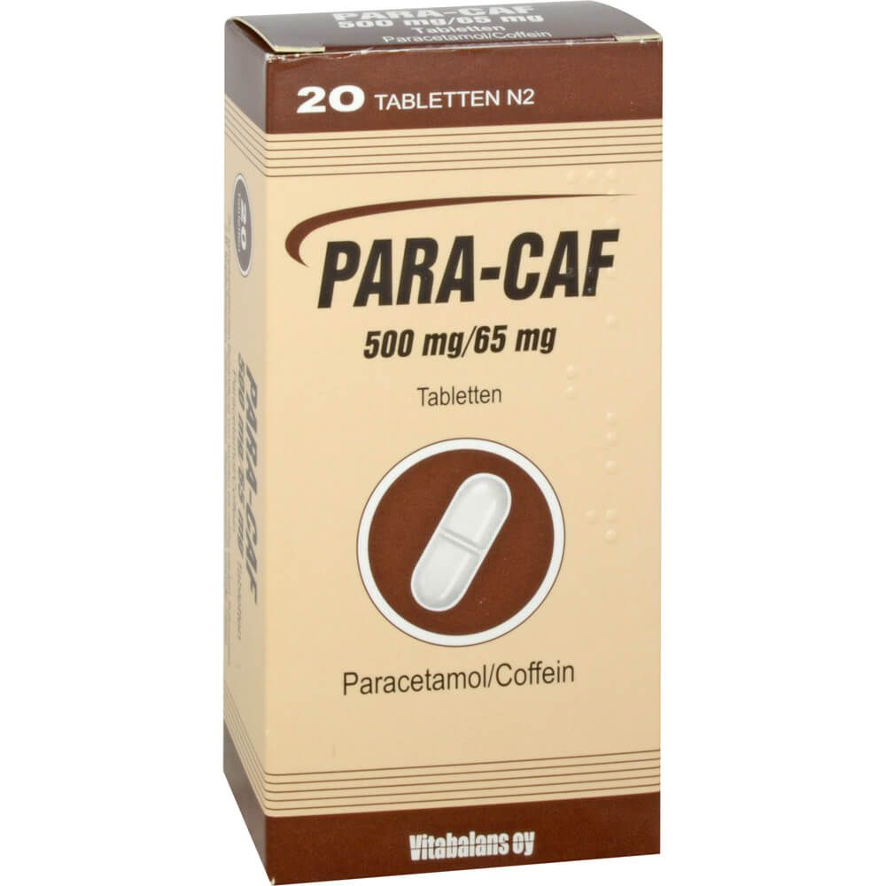 PARA CAF 500 mg/65 mg Tabletten