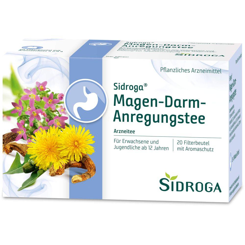SIDROGA Magen-Darm-Anregungstee Filterbeutel