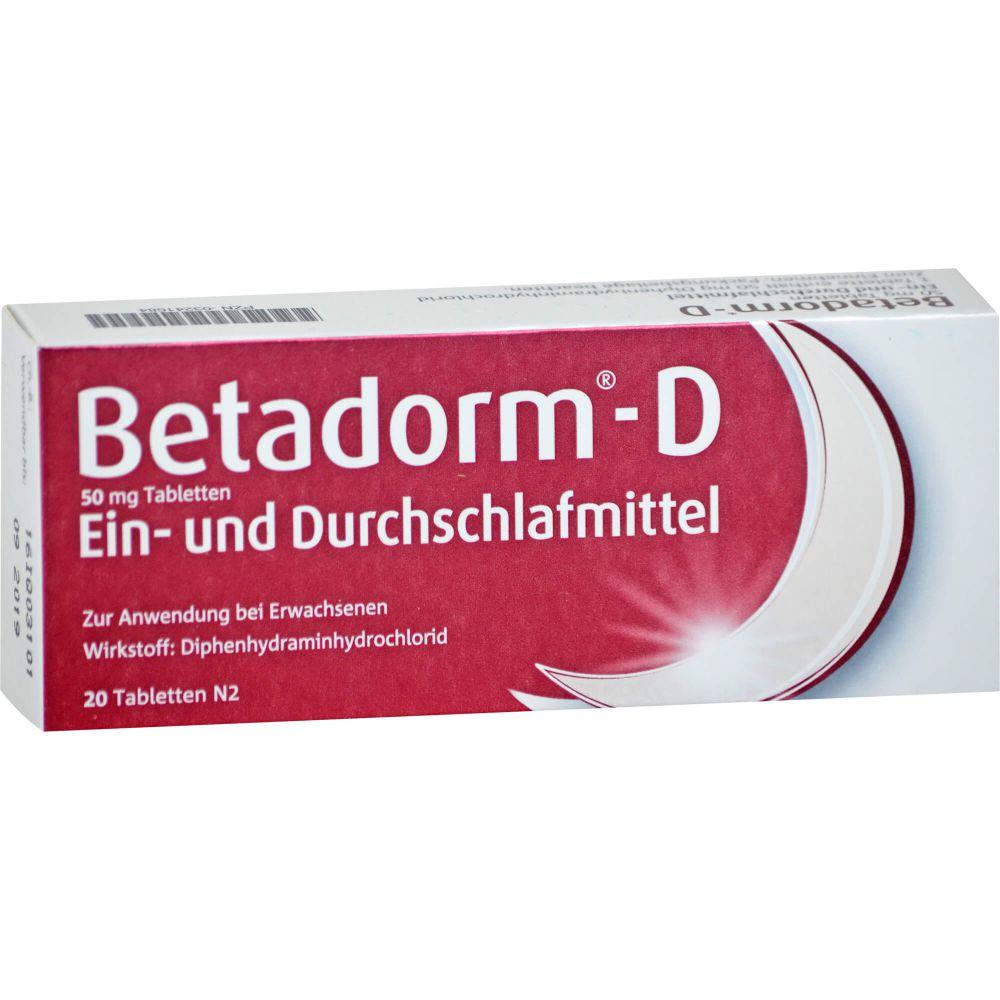 BETADORM D Tabletten