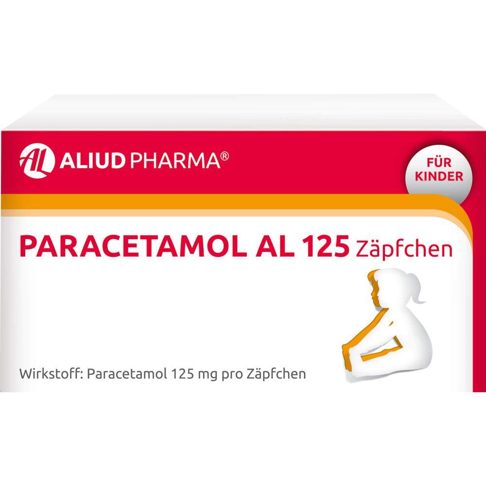 PARACETAMOL AL 125 Säuglings-Suppos.
