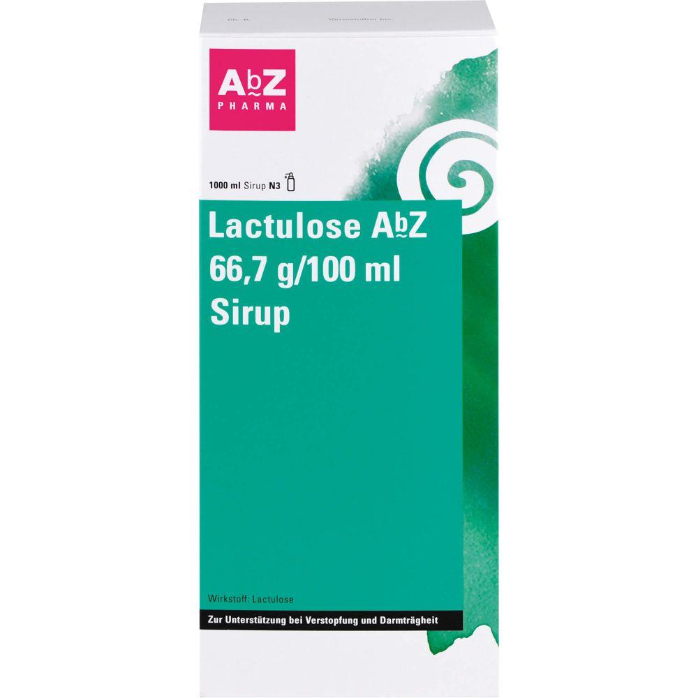 LACTULOSE AbZ 66,7 g/100 ml Sirup
