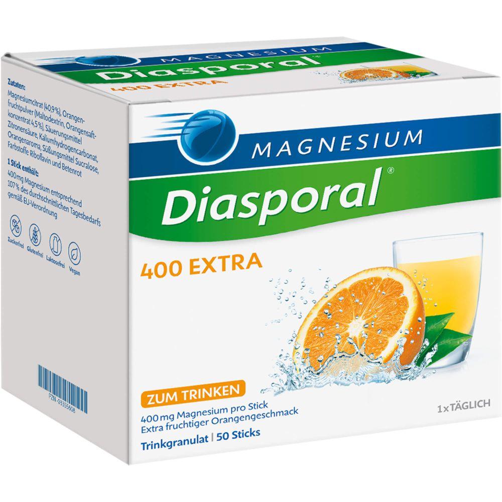 MAGNESIUM DIASPORAL 400 Extra Trinkgranulat