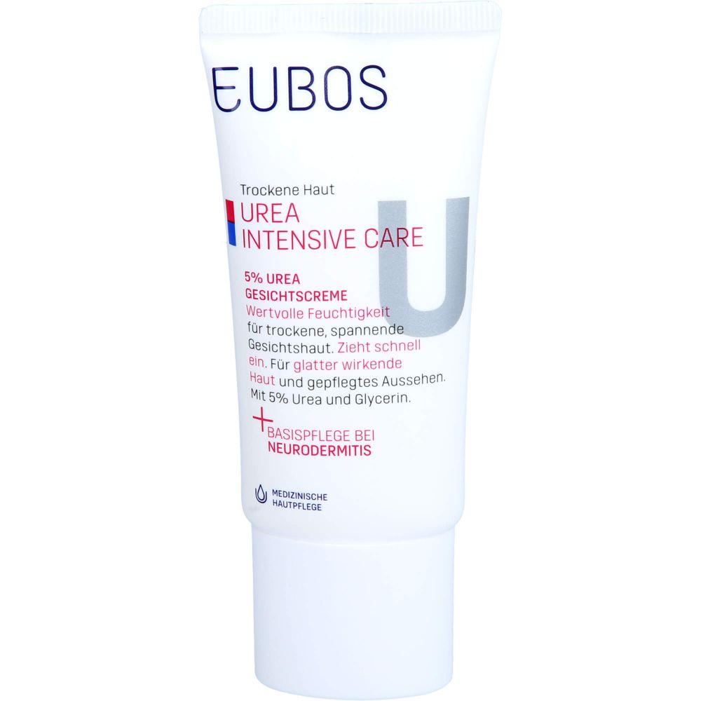 EUBOS TROCKENE Haut Urea 5% Gesichtscreme