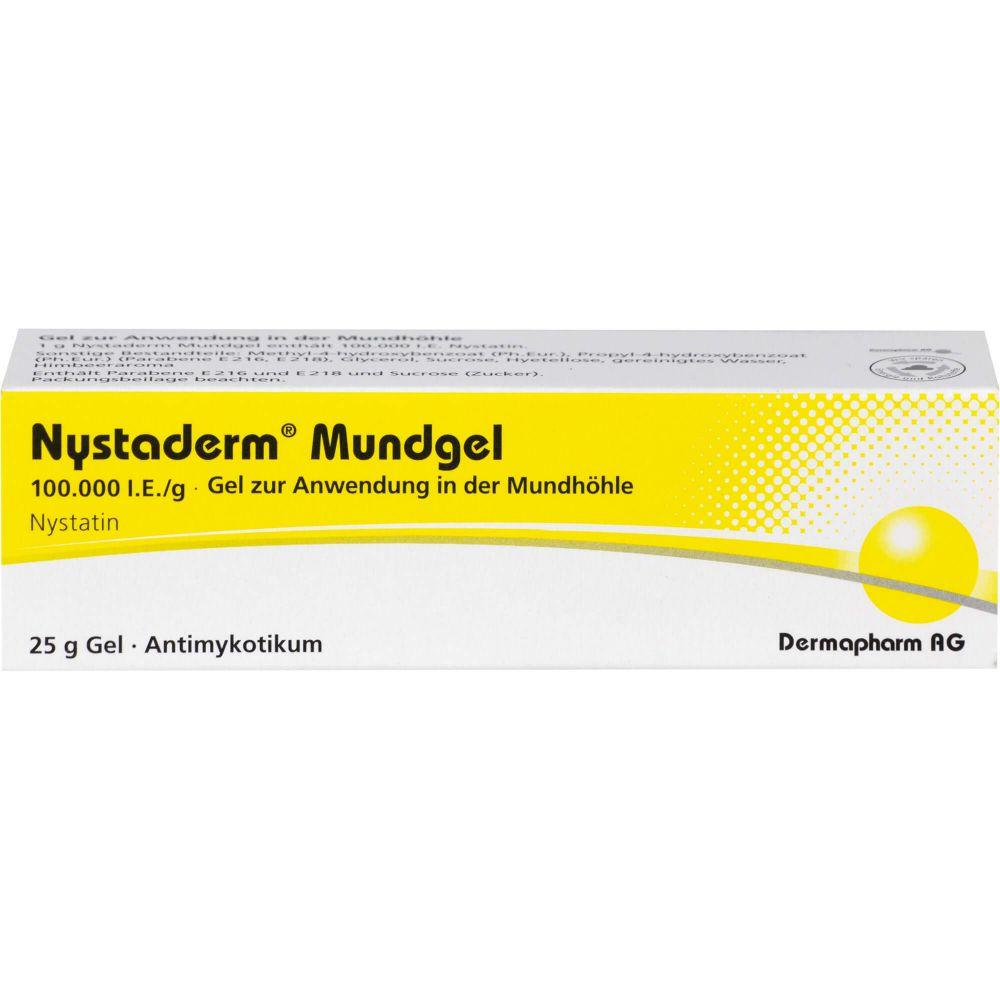NYSTADERM Mundgel