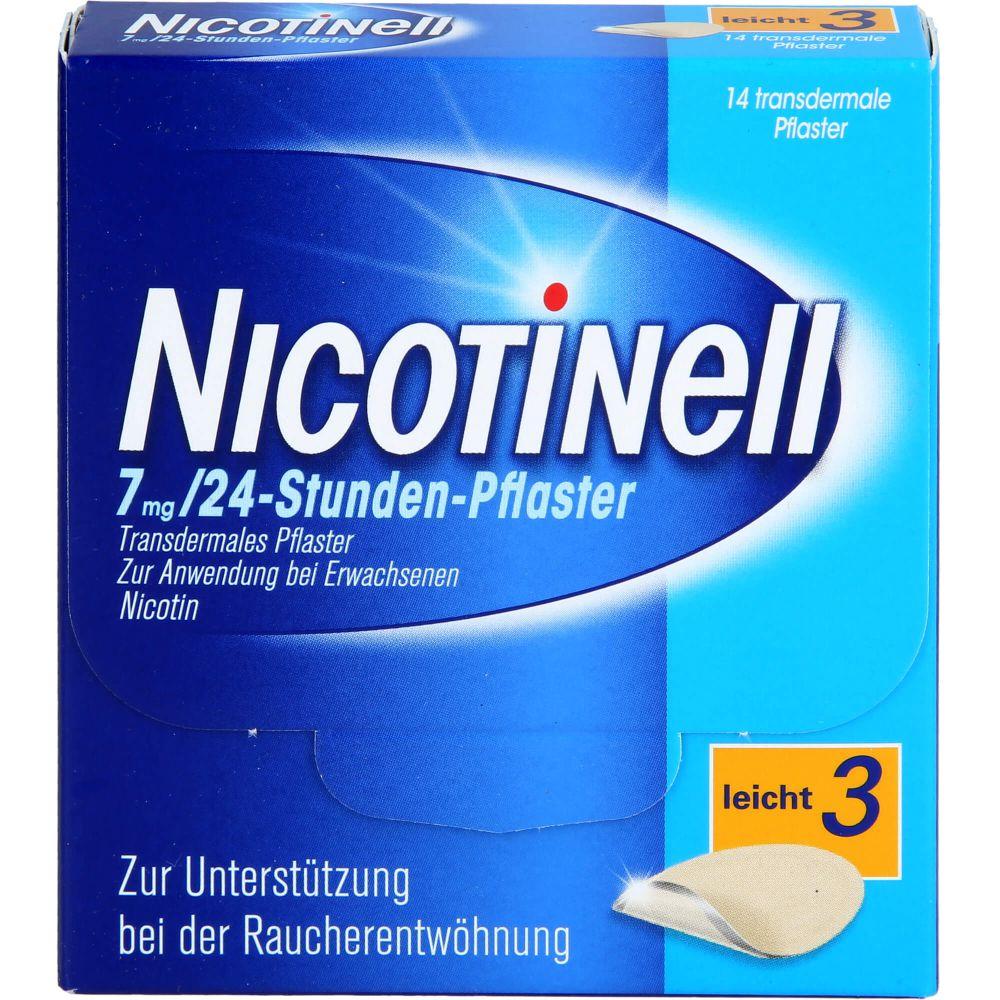 NICOTINELL 7 mg/24-Stunden-Pflaster 17,5mg