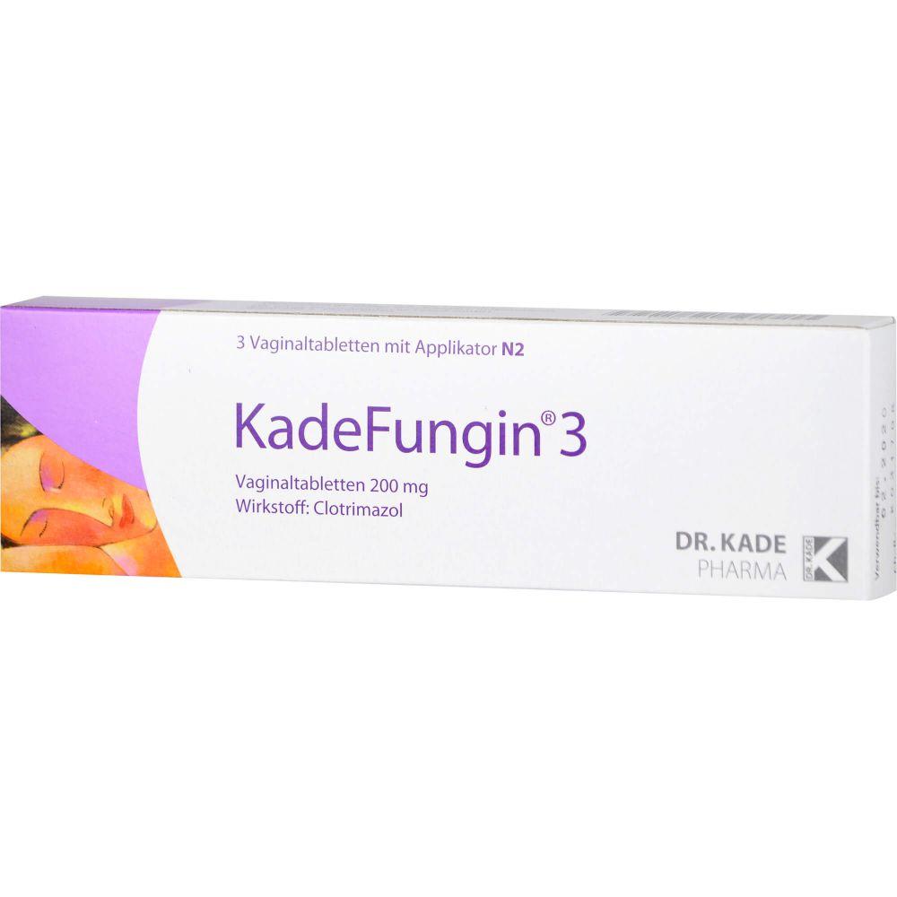 KADEFUNGIN 3 Vaginaltabletten