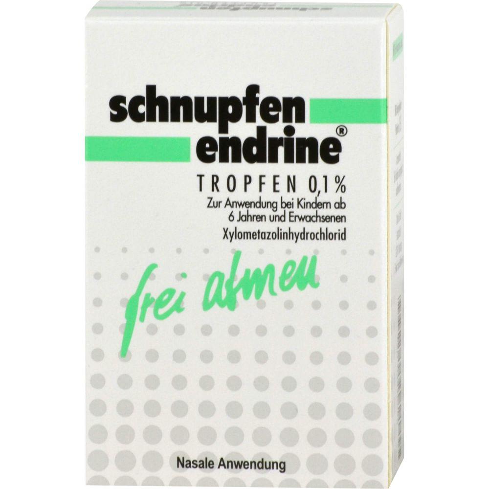SCHNUPFEN ENDRINE 0,1% Nasentropfen