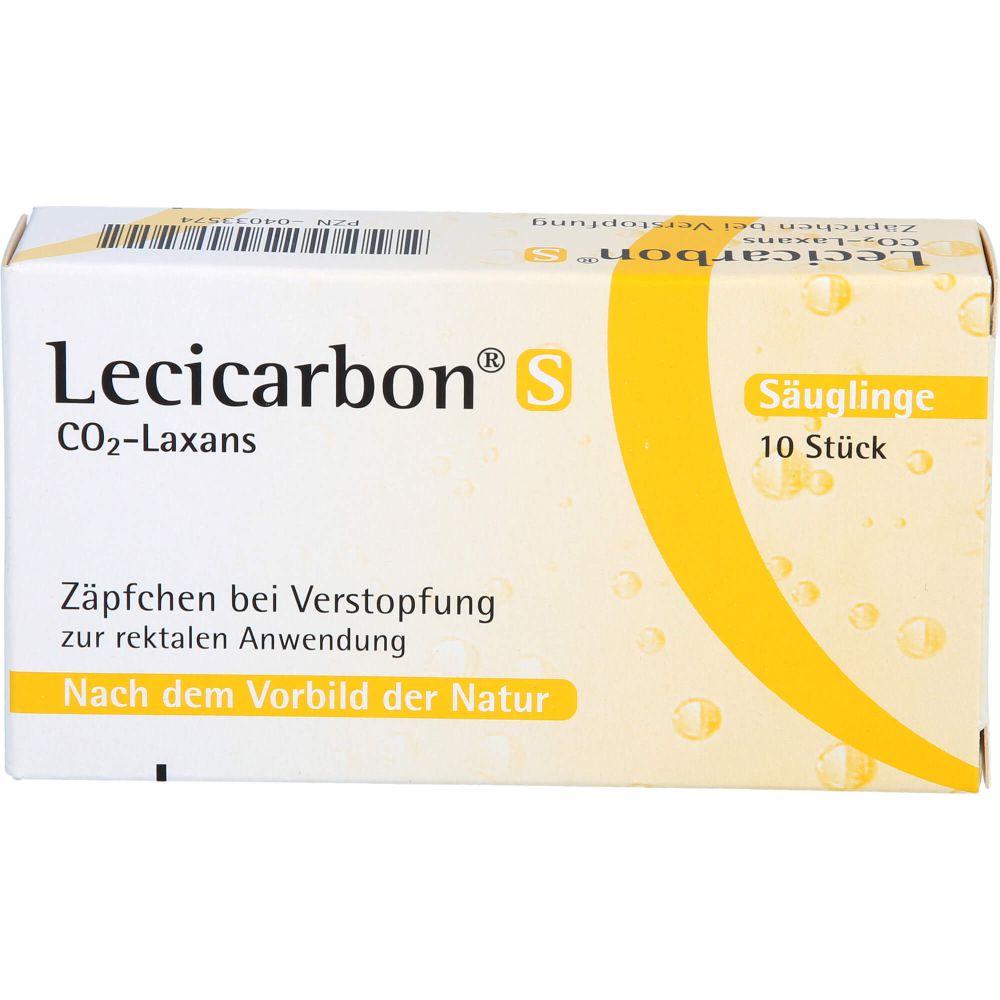 LECICARBON S CO2 Laxans Suppositorien