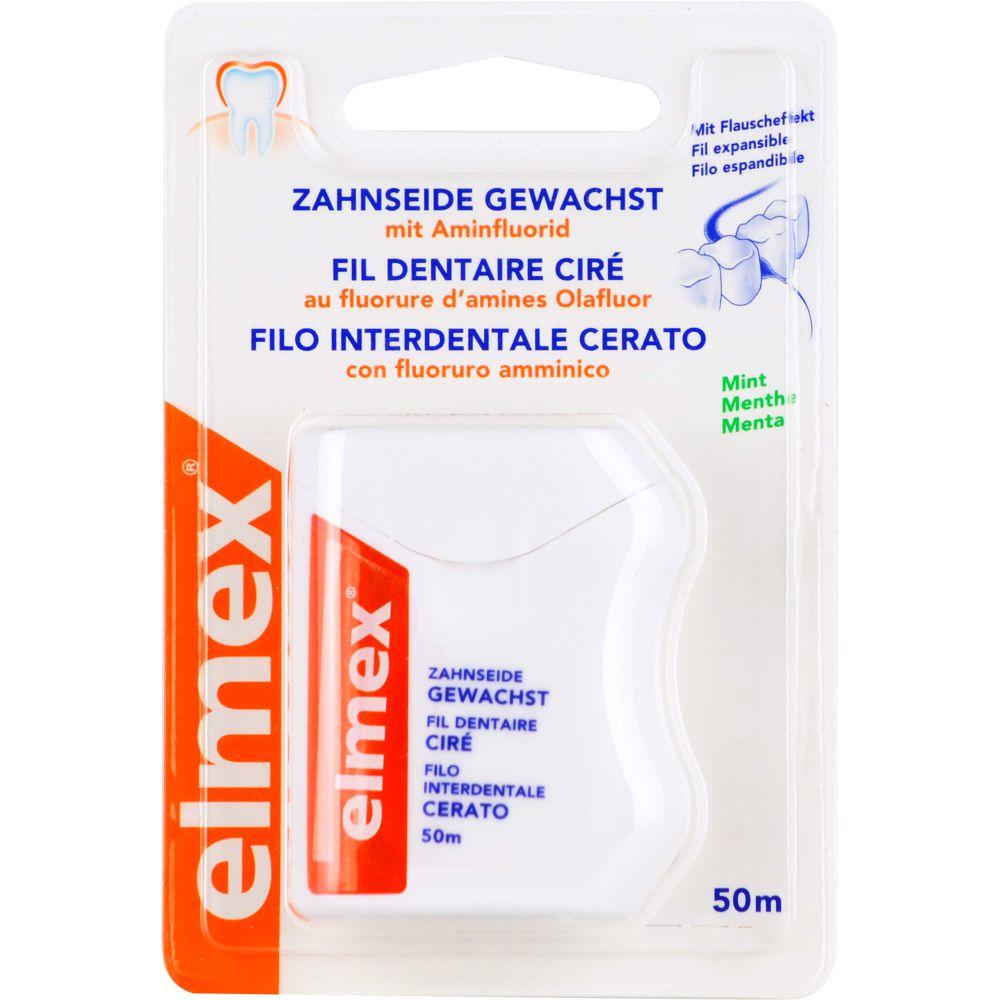 ELMEX Zahnseide gewachst mit Aminfluorid