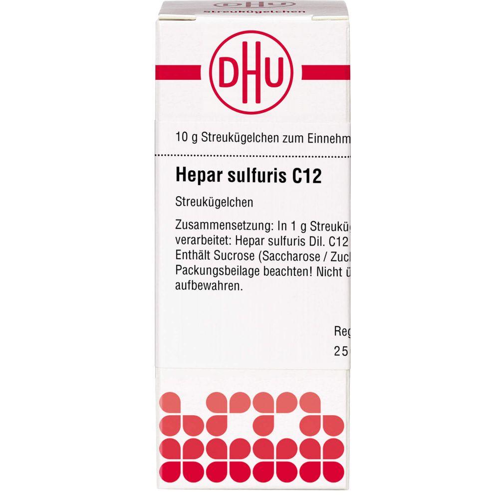 HEPAR SULFURIS C 12 Globuli