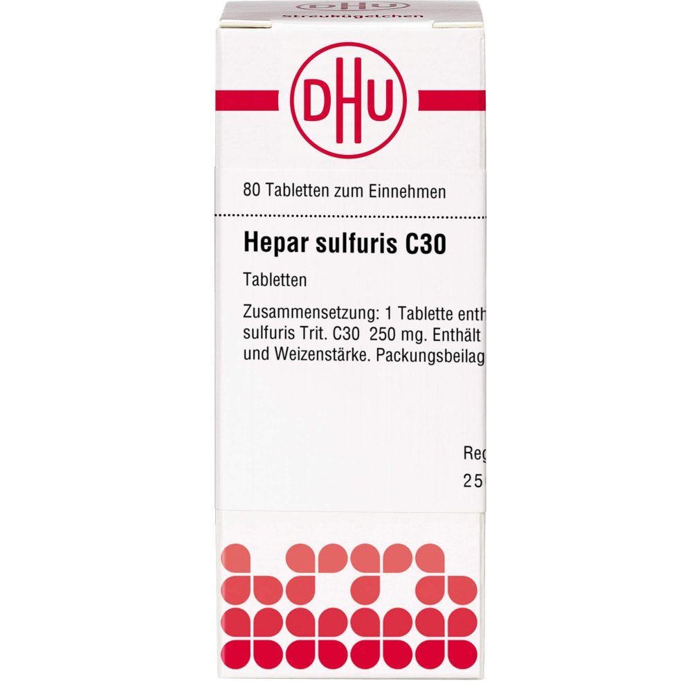 HEPAR SULFURIS C 30 Tabletten