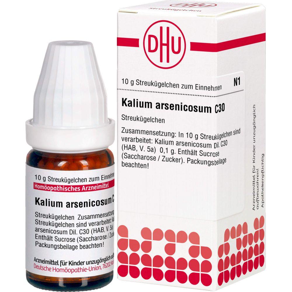 KALIUM ARSENICOSUM C 30 Globuli