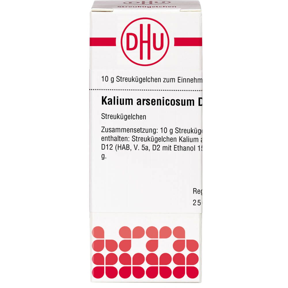 KALIUM ARSENICOSUM D 12 Globuli