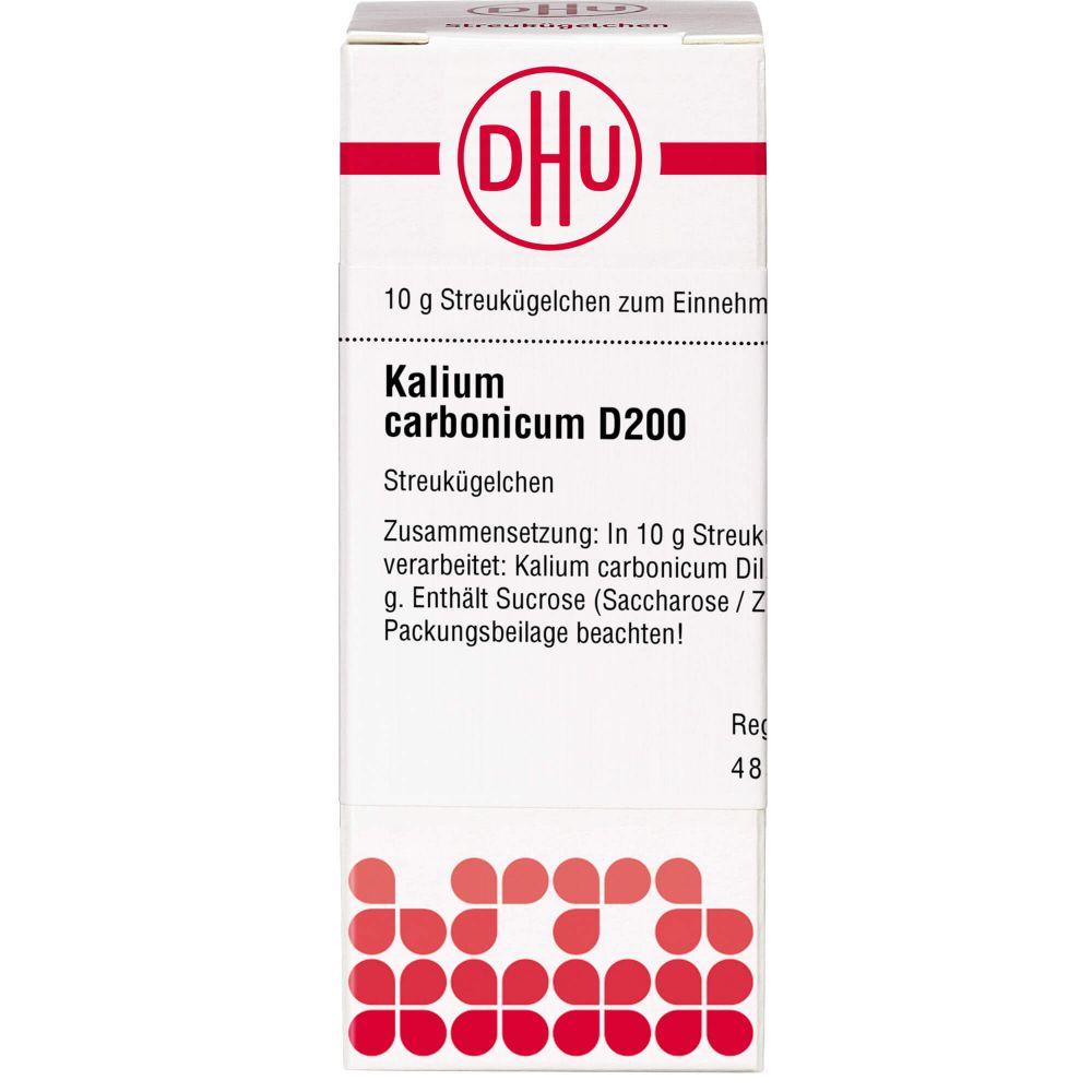 KALIUM CARBONICUM D 200 Globuli
