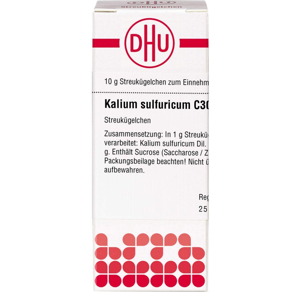 KALIUM SULFURICUM C 30 Globuli