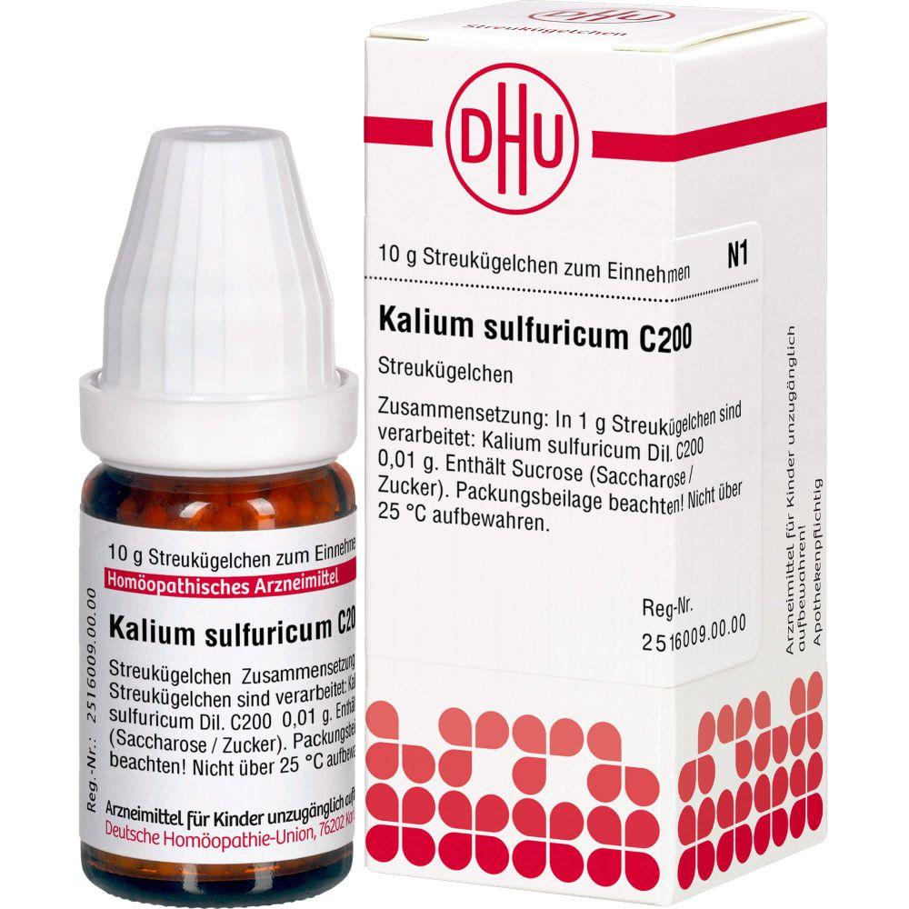 KALIUM SULFURICUM C 200 Globuli