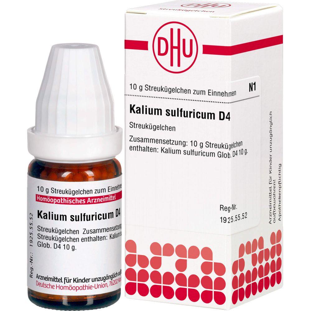 KALIUM SULFURICUM D 4 Globuli