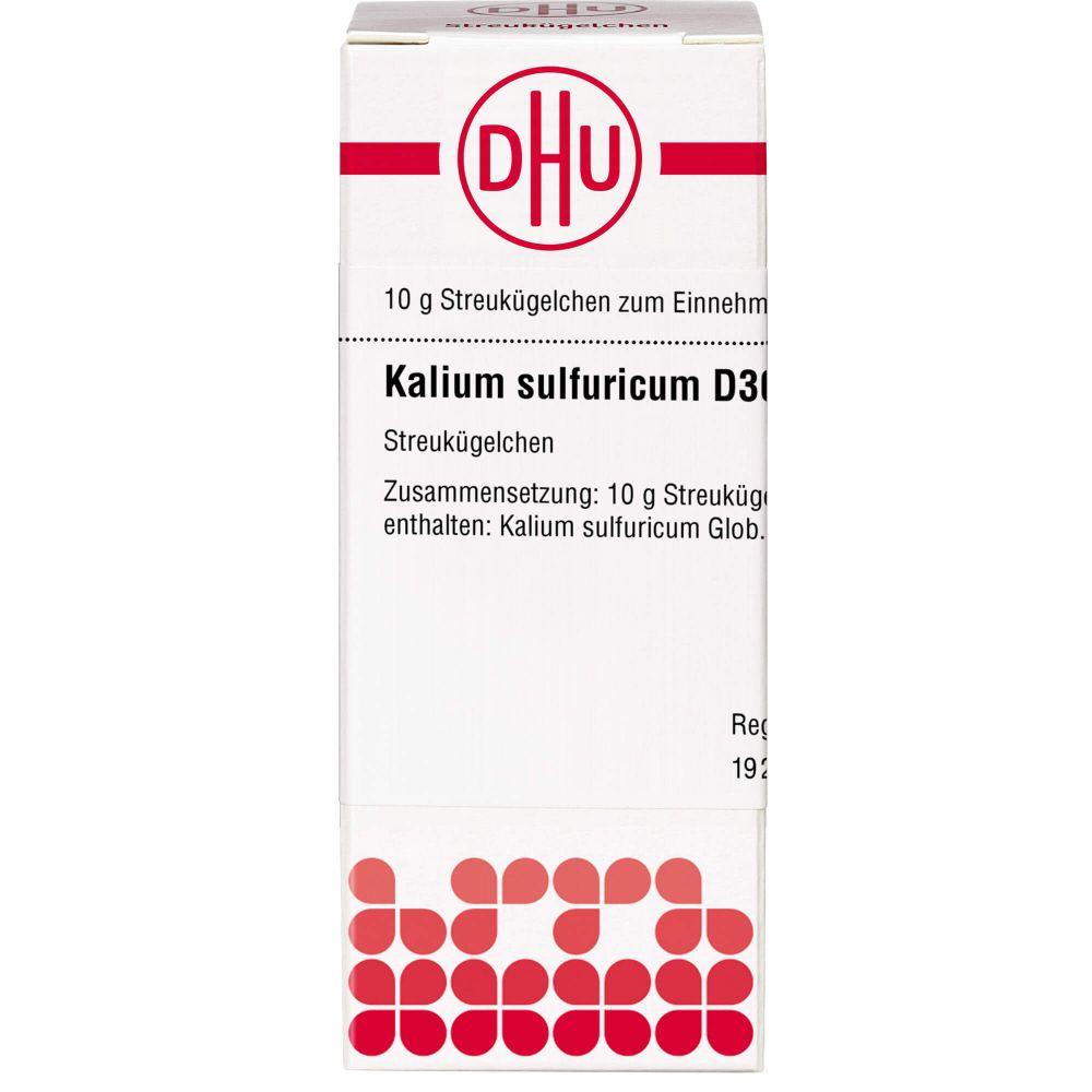 KALIUM SULFURICUM D 30 Globuli