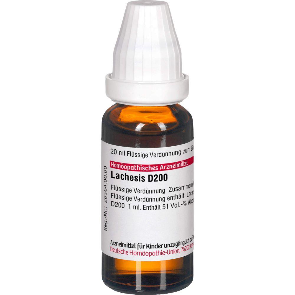 LACHESIS D 200 Dilution