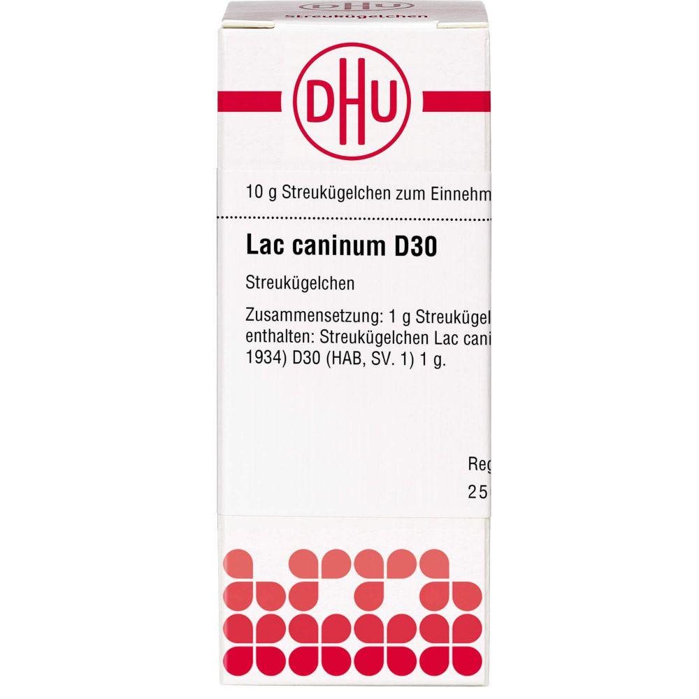 LAC CANINUM D 30 Globuli