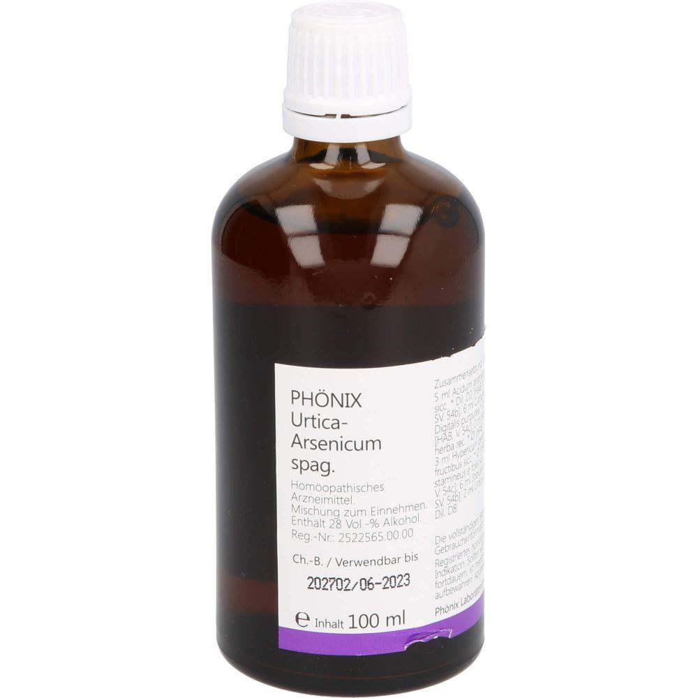 PHÖNIX URTICA arsenicum spag.Mischung
