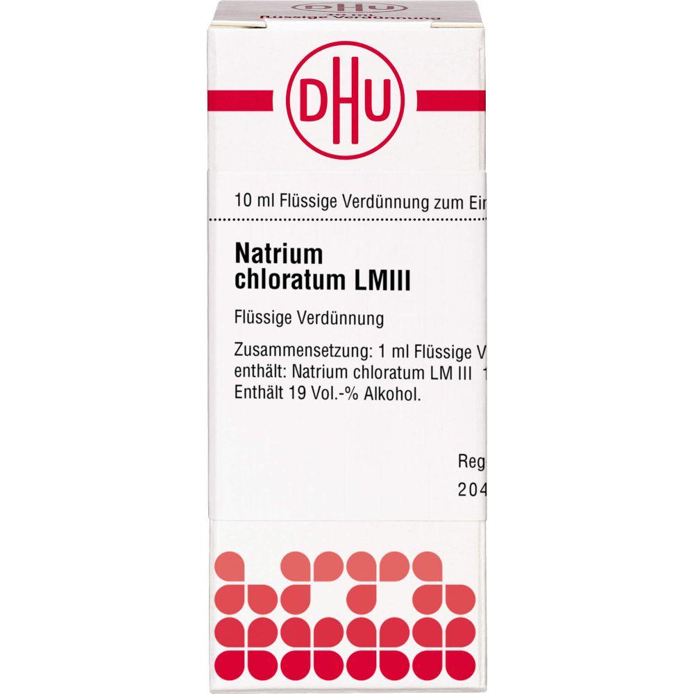 LM NATRIUM chloratum III Dilution