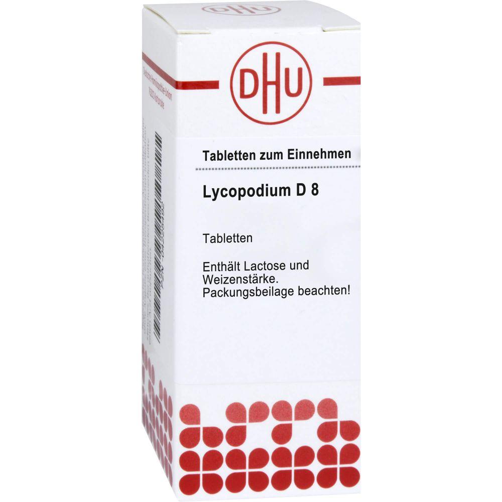 LYCOPODIUM D 8 Tabletten
