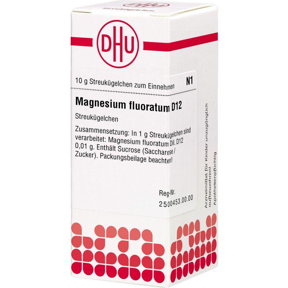MAGNESIUM FLUORATUM D 12 Globuli