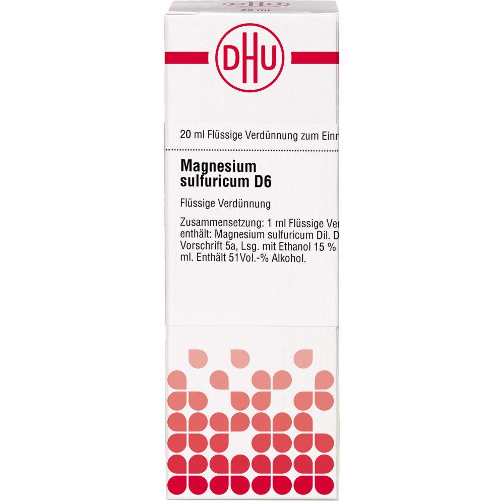 MAGNESIUM SULFURICUM D 6 Dilution