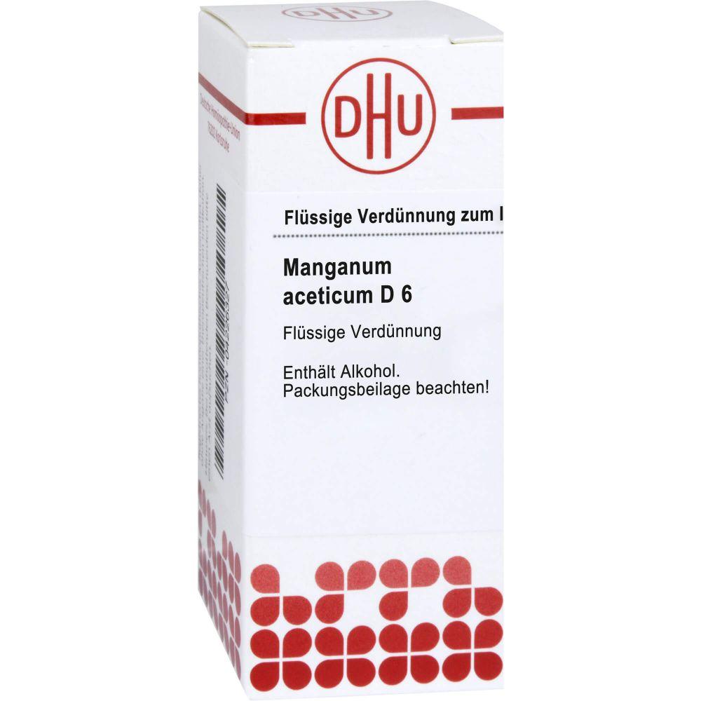 MANGANUM ACETICUM D 6 Dilution