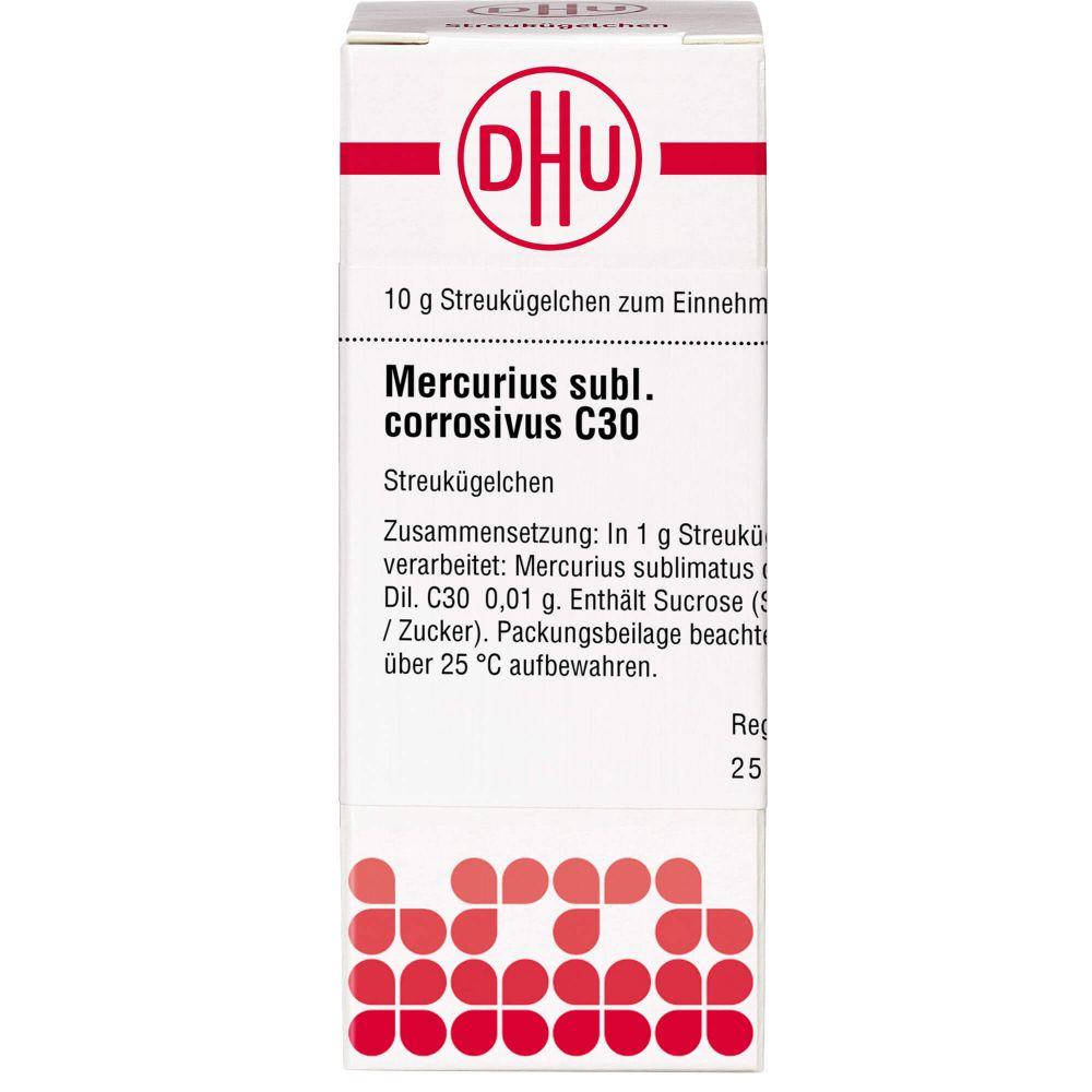 MERCURIUS SUBLIMATUS corrosivus C 30 Globuli