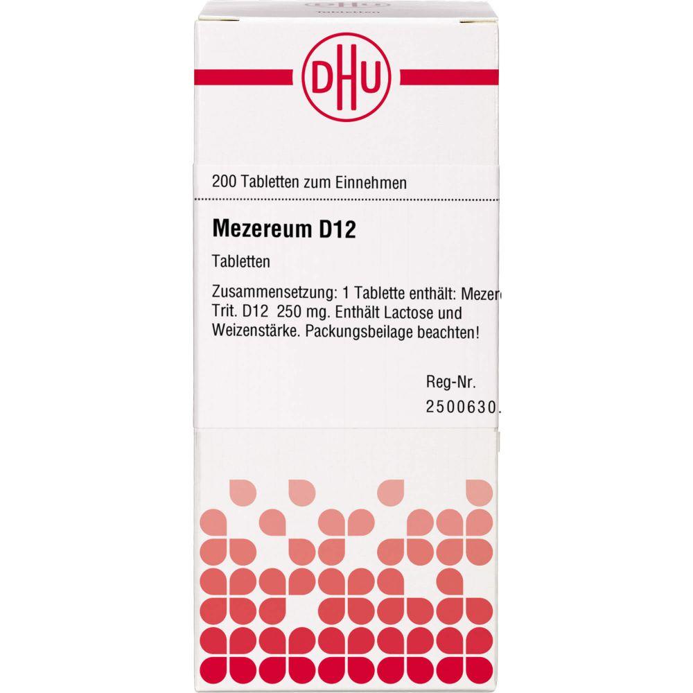 MEZEREUM D 12 Tabletten