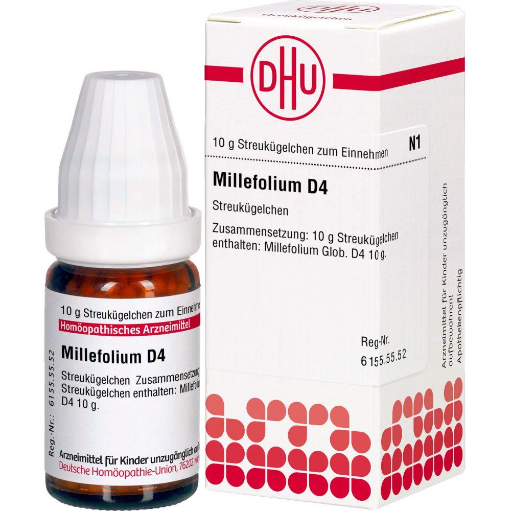 MILLEFOLIUM D 4 Globuli