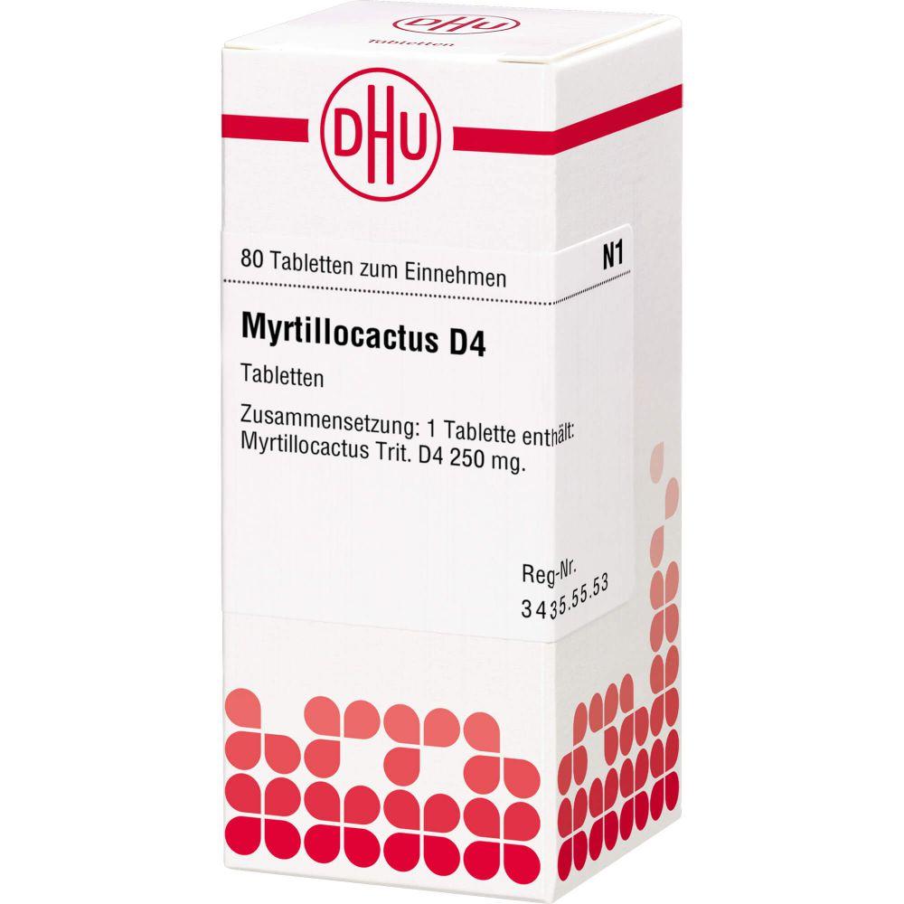 MYRTILLOCACTUS D 4 Tabletten