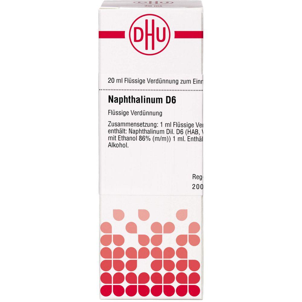 NAPHTHALINUM D 6 Dilution