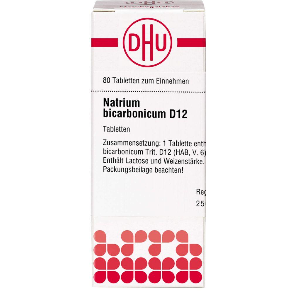 NATRIUM BICARBONICUM D 12 Tabletten