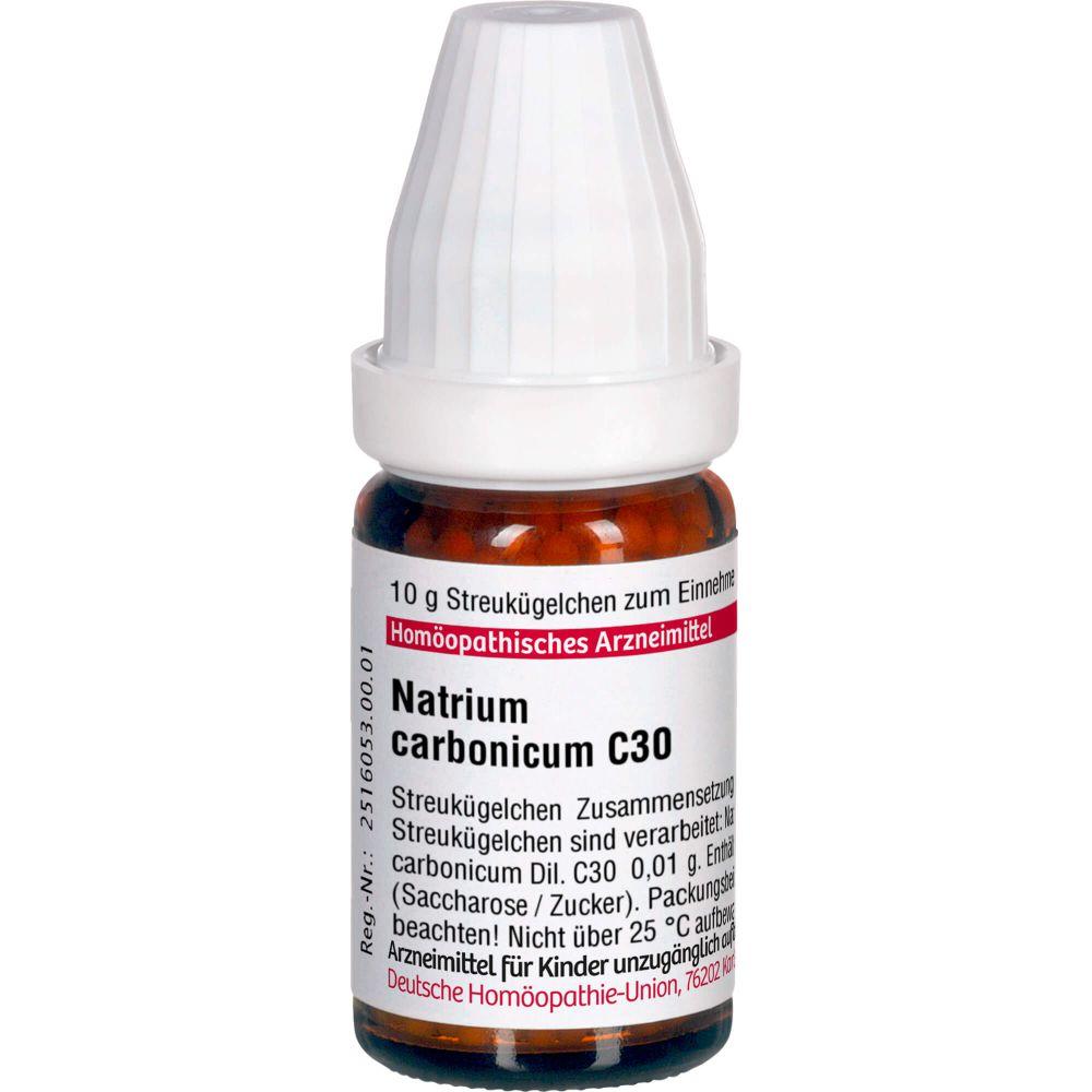 NATRIUM CARBONICUM C 30 Globuli