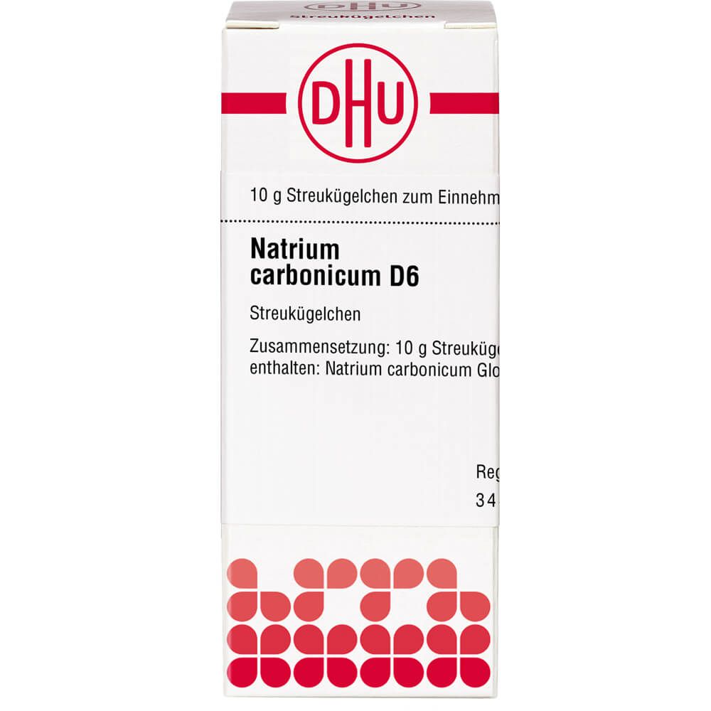 NATRIUM CARBONICUM D 6 Globuli