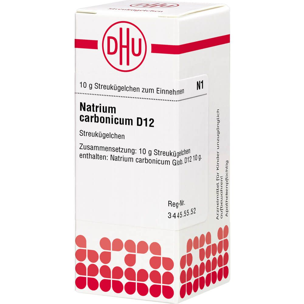 NATRIUM CARBONICUM D 12 Globuli