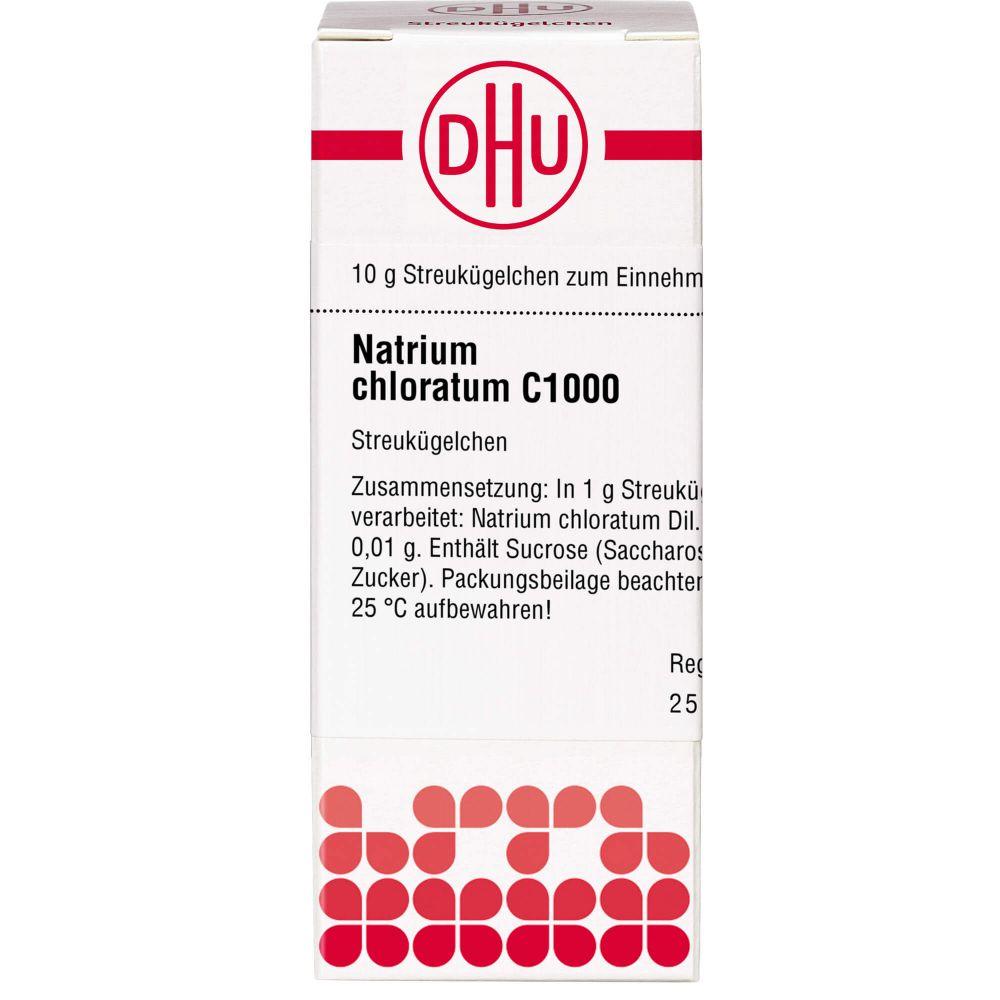 NATRIUM CHLORATUM C 1000 Globuli
